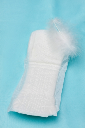 sanitary napkin Stock Photo - 18785419