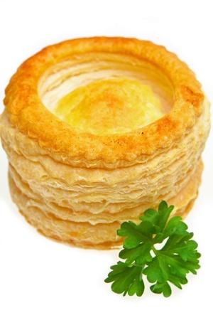pasty: Cornish Pasty Stock Photo