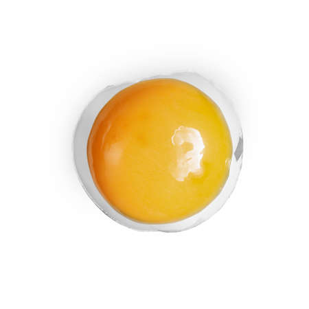 eggshell: yolk in eggshell