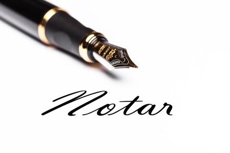 notary: Notary