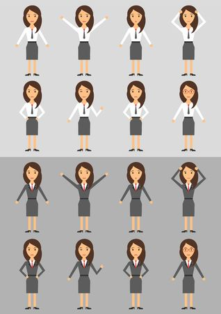 business woman: Character Business Woman