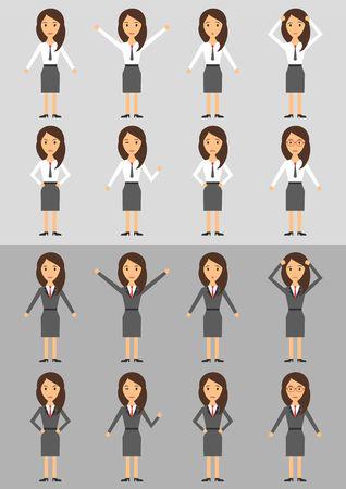 Karakter Business Woman