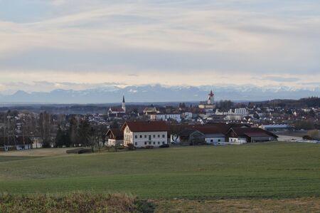 in bavaria: alps of bavaria