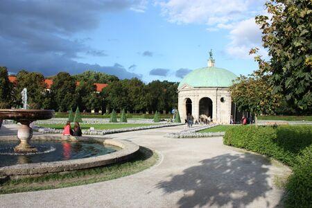 residenz: Hofgarten at the Residenz, Munich