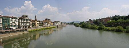 arno: Florence and Arno panorama