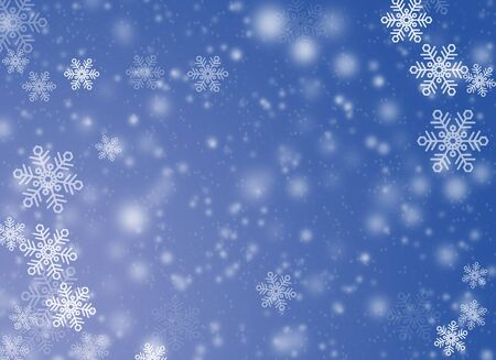 cold snowy background Stock Photo - 8426084