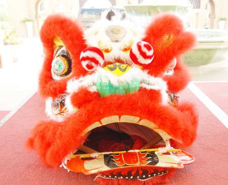 Lion  dance custome photo