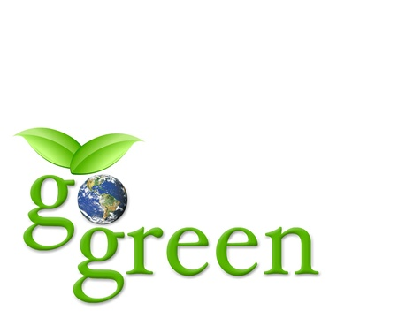 go: Go green Stock Photo