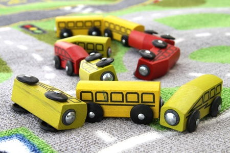 assorted color toy cars Stock Photo - 9945022