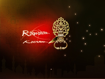 classic ramadan kareem and beautiful design photo