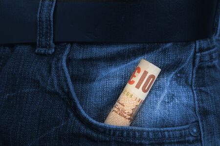 british money: Pounds bill