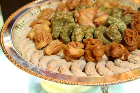 baklawa: arabic sweet