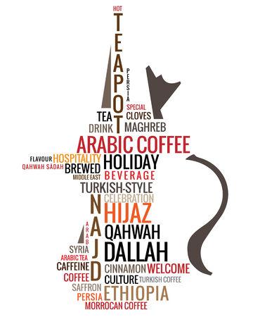 description: arabic teapot composed of keywords and description