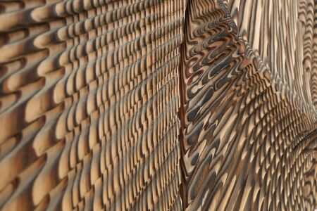 brunt: wood pattern design Stock Photo