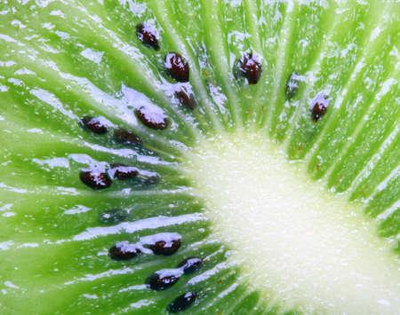 topdown: juicy green kiwi � excellent source of  vitamin C