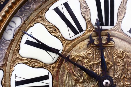 ancient clock of the nineteenth century Stock Photo - 3448040
