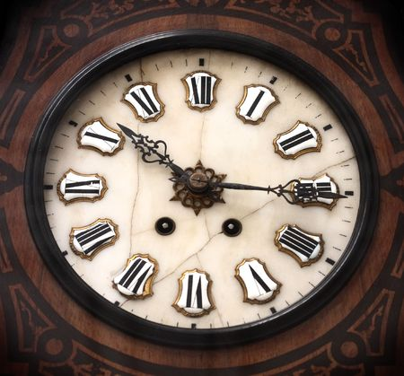 nineteenth: ancient clock of the nineteenth century