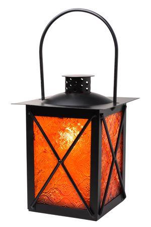lantern isolated on white background 免版税图像