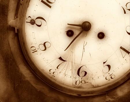 Old broken clock