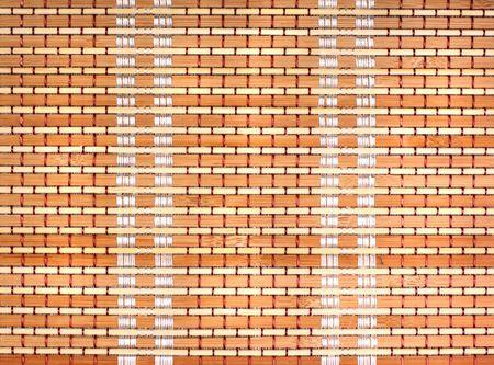Close-up of bamboo mat photo