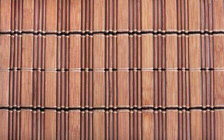 Bamboo mat texture background photo