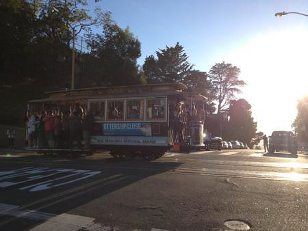 san francisco trolley car streetcar Stock fotó