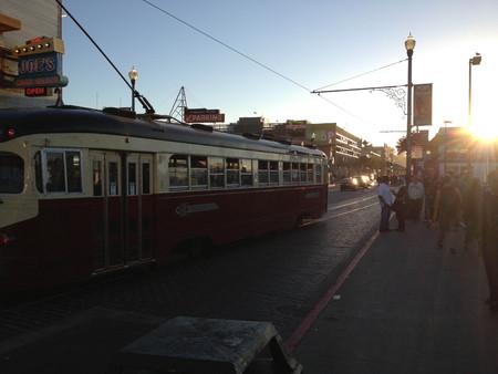 san francisco trolley car streetcar Sajtókép