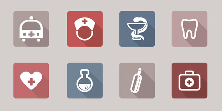 Web Icons - Medical vector set  Vector