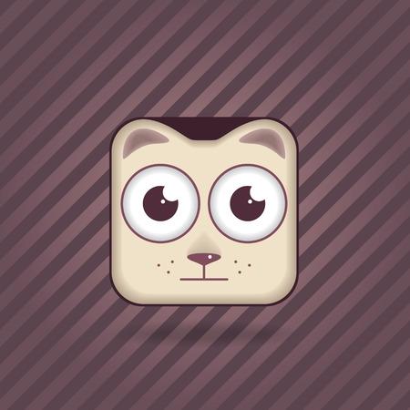 app icon cat vector animal   Vector