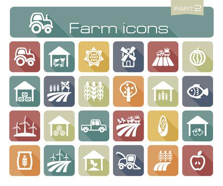 pigsty: Farm icons part 2