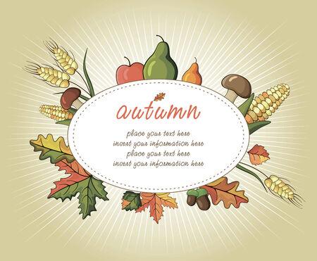indian family: Happy Thanksgiving Day celebration flyer Illustration