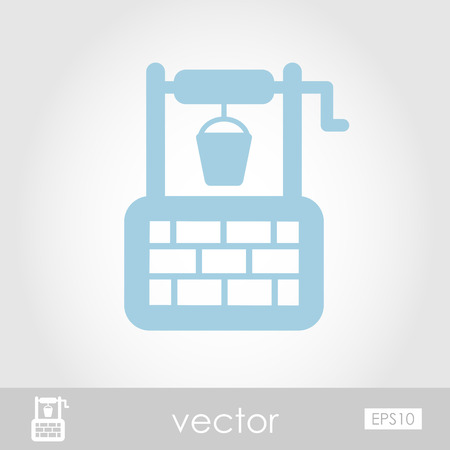 water well: Water Well vector icon