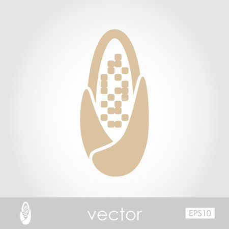 corncob: Corncob vector icon