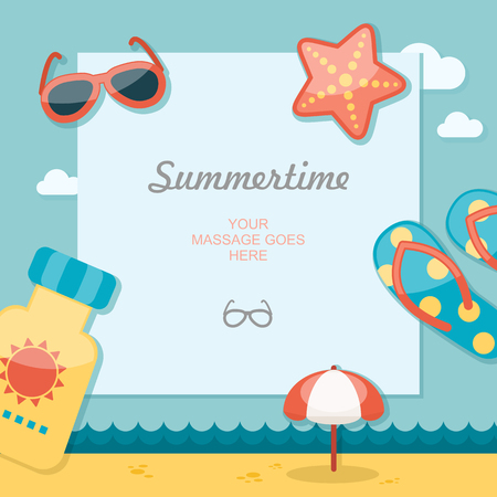 summertime: Summertime traveling template