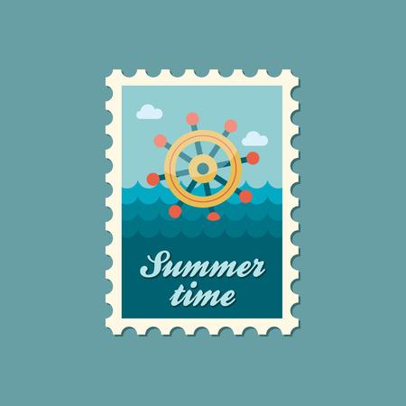 roer: Helm flat stamp summertime