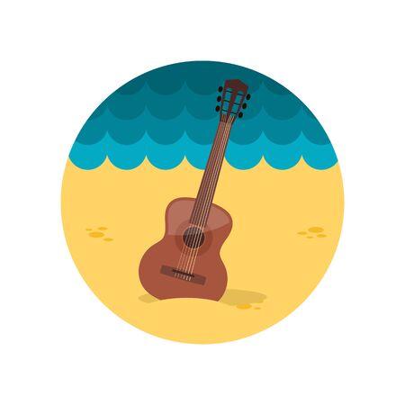 strumming: Guitar Beach flat icon