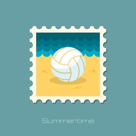 voleibol: Voleibol sello plana