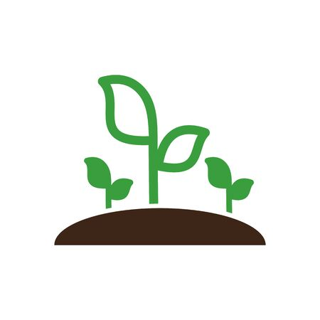 sprout: Plant sprout icon outline.