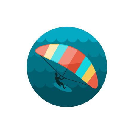kite surfing: Kite boarding