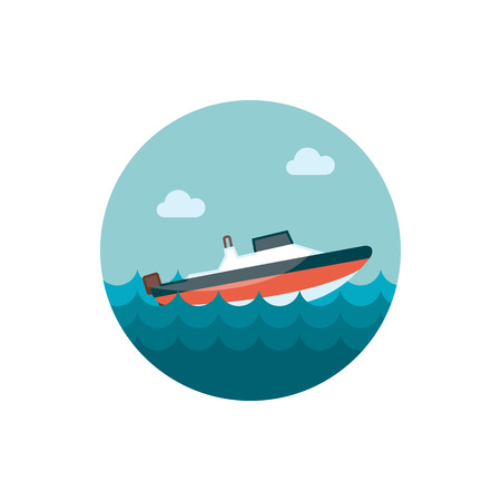 speed: Speed boat icon
