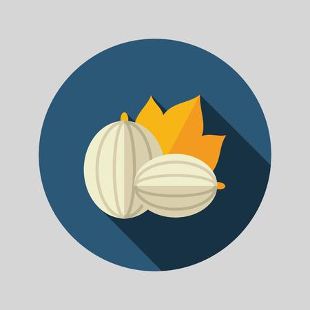 Gooseberry flat icon. Berry fruit. Vector illustration, eps 10 Illusztráció