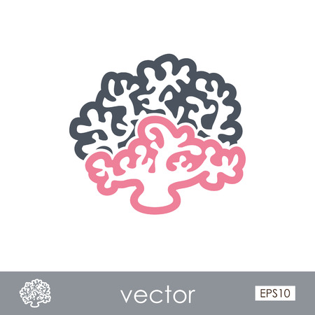 Coral outline vector icon. Beach. Summer. Summertime. Holiday. Vacation, eps 10