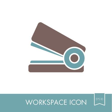 Stapler outline icon.