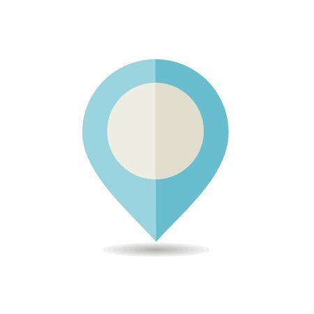 Pin Map icon. E-commerce sign. Graph symbol for your web site design, logo, app, UI. Vector illustration, EPS10. Illustration