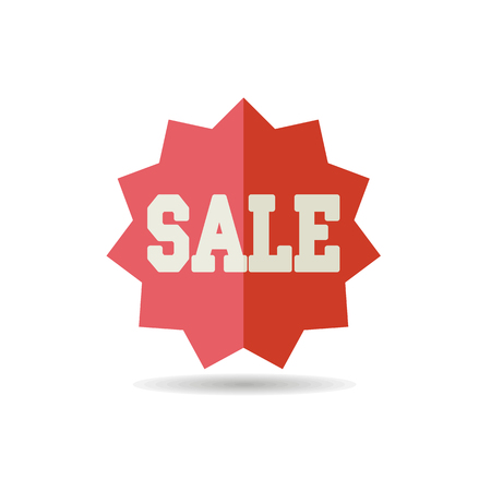 Sale tag icon. E-commerce sign. Graph symbol for your web site design, logo, app, UI. Vector illustration, EPS10. Illustration