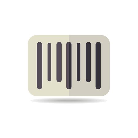 Barcode icon. E-commerce sign. Graph symbol for your web site design, logo, app, UI. Vector illustration, EPS10.