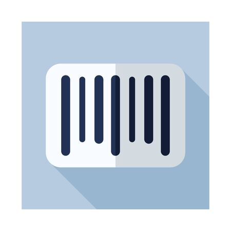 Barcode icon. E-commerce sign. Graph symbol for your web site design, logo, app, UI. Vector illustration.
