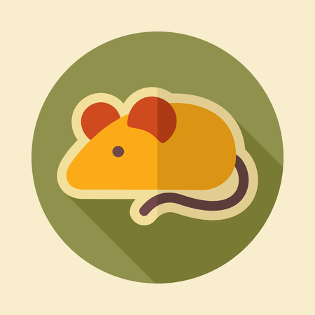 Field mouse icon. Agriculture sign.Graph symbol for your web site design Standard-Bild - 105597879