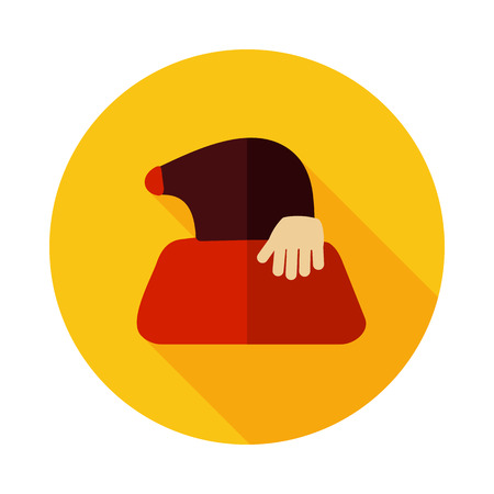 Mole icon for garden craft. Agriculture sign.Graph symbol for your web site design