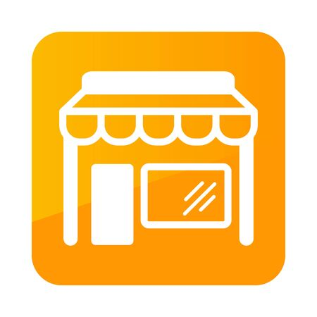 Store front isolated icon. E-commerce sign. Graph symbol for your web site design,   app, UI. Vector illustration Illustration